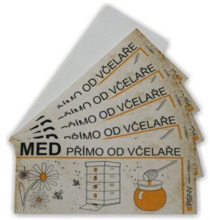 Etiketa Med Přímo Od Včelaře